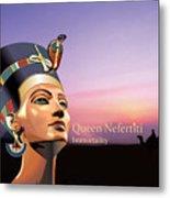 Nefertiti Metal Print by Debbie McIntyre