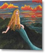 Neptune's Folly Metal Print by Patricia Griffin Brett