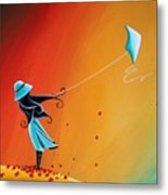 Never Let Go Metal Print by Cindy Thornton