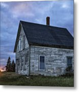 New Day Old House Metal Print by John Greim