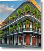 New Orleans House Metal Print by Inge Johnsson