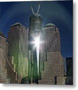 New World Trade Center Metal Print by David Smith