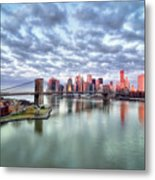 New York City Metal Print by Photography by Steve Kelley aka