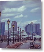 New York Metal Print by Claudia M Photography