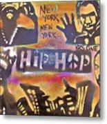 New York New York Metal Print by Tony B Conscious