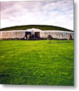 Newgrange Morning Metal Print by Douglas Barnett