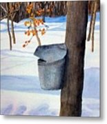 Nh Goldmine Metal Print by Sharon E Allen