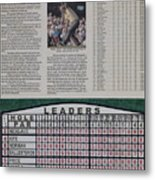 Nicklaus 1986 Masters Victory Metal Print by Marc Yench