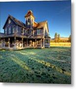 Nicolas Haunted House II Metal Print by Paul W Sharpe Aka Wizard of Wonders