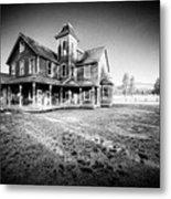 Nicolas Haunted House IIb Metal Print by Paul W Sharpe Aka Wizard of Wonders