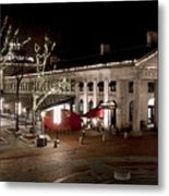 Night Market Metal Print by Greg Fortier