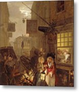 Night Metal Print by William Hogarth