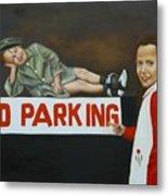 No Parking Metal Print by Joni McPherson