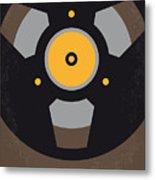 No181 My Sound City Minimal Movie Poster Metal Print by Chungkong Art