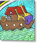 Noahs Ark Two Metal Print by Wayne Potrafka