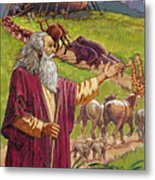 Noah's Ark Metal Print by Valer Ian