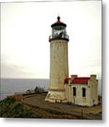 North Head Lighthouse - Graveyard Of The Pacific - Ilwaco Wa Metal Print by Christine Till