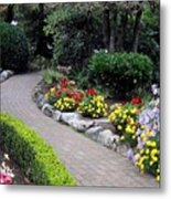 North Vancouver Garden Metal Print by Will Borden