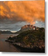 Norwegian Coast No. 6 Metal Print by Joe Bonita