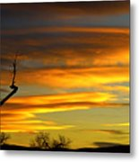 November Sunset Metal Print by James BO  Insogna