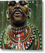 Nubian Dream Metal Print by Gary Williams