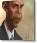 Obama Metal Print by Court Jones