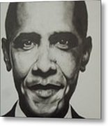 Obama Metal Print by Jane Nwagbo