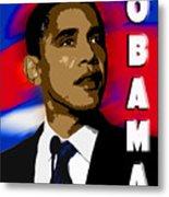 Obama Metal Print by John Keaton