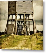 Observation Tower Metal Print by Angela Doelling AD DESIGN Photo and PhotoArt