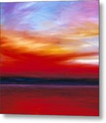 October Sky  Metal Print by James Christopher Hill