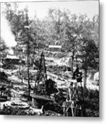 Oil: Pennsylvania, 1863 Metal Print by Granger