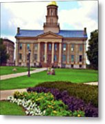 Old Capitol Metal Print by Jame Hayes