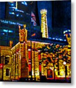 Old Chicago Pumping Station Metal Print by Michael Durst