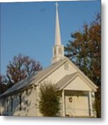 Old Country Church Metal Print by Kathy Bucari