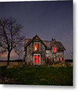 Old Farm House Metal Print by Cale Best