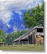 Old Hay Barn Metal Print by Jan Amiss Photography