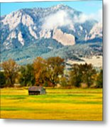 Old Shed Metal Print by Marilyn Hunt