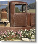Old Truck In Tennessee Metal Print by Stan and Anne Foster