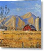 Old Vineyard Dairy Farm Metal Print by Jeff Brimley