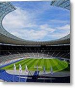 Olympic Stadium Berlin Metal Print by Juergen Weiss