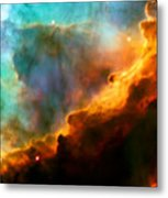 Omega Swan Nebula 3 Metal Print by Jennifer Rondinelli Reilly - Fine Art Photography