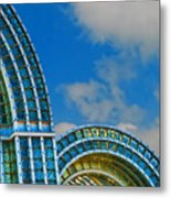 On A Blue Day Metal Print by Wendy J St Christopher