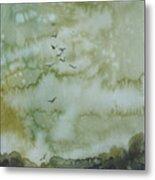 On Golden Pond Metal Print by Elizabeth Carr