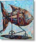 On The Conquer For Land Metal Print by Darwin Leon