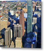 One Logan 1717 Arch Comcast Center Metal Print by Duncan Pearson