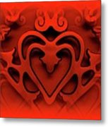 One Love Metal Print by Jane Alexander
