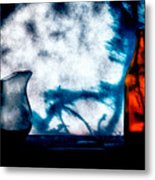 One Red Bottle Metal Print by Bob Orsillo