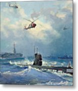 Operation Kama Metal Print by Valentin Alexandrovich Pechatin