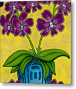 Orchid Delight Metal Print by Lisa  Lorenz
