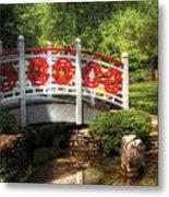 Orient - Bridge - Tranquility Metal Print by Mike Savad